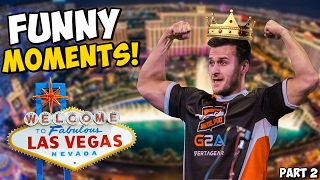 DREAMHACK LAS VEGAS 2017 - FUNNY PRO MOMENTS! Part 2