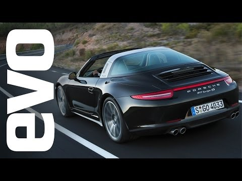 Porsche 911 Targa 4S on Back Roads