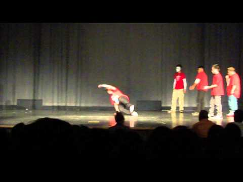 Breakdance at West Iredell High School