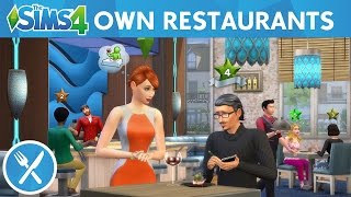 The Sims 4 Dine Out: Own Restaurants Official Gameplay Trailer