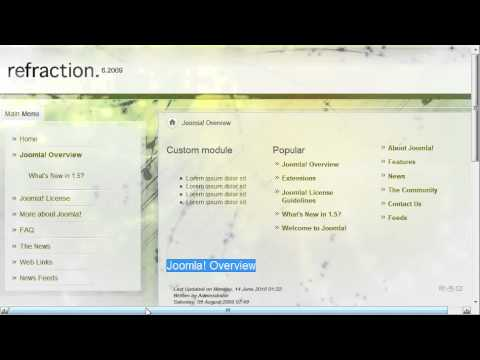 Joomla SEO Video THREE