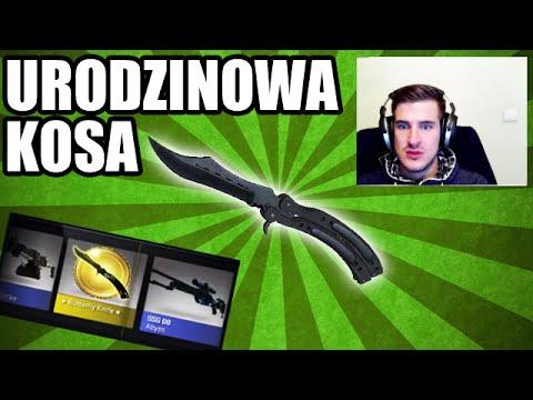 JEEEST KOSA! Butterfly knife blue steel!