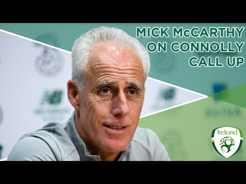 #IRLMNT INTERVIEW | Mick McCarthy on Aaron Connolly's call-up
