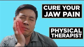 TMJ Disorder | Can't Chew? Improving Bite Stength| Jaw Pain Exercise