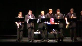 Star Wars Cantina Band (sax quartet, trumpet, and rhythm section)