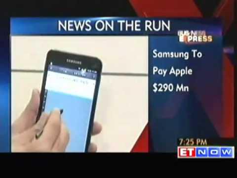 US jury orders Samsung to pay Apple $290 million
