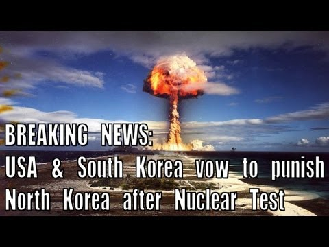 BREAKING NEWS: US and South Korea Vow to Punish North Korea