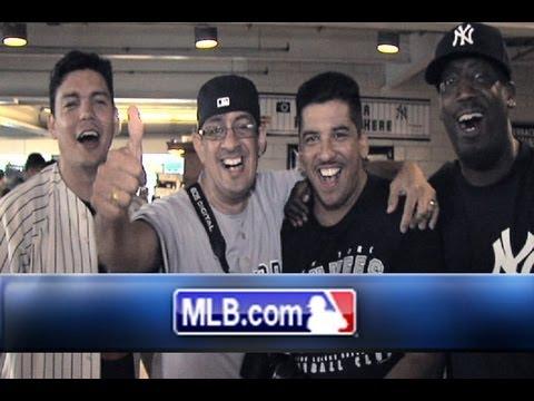 Four Diehard Yankees fans Go for the Dough!