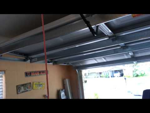 Liftmaster garage door opener car setup 6