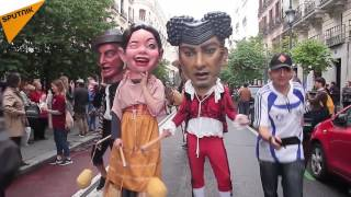 Giants And Big Heads Parade Kicks Off In Spain