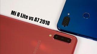 Xiaomi Mi 8 lite против Samsung A7 2018