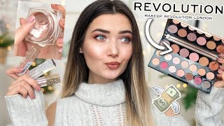 TESTING NEW MAKEUP REVOLUTION PRODUCTS! WORTH THE MONEY!?