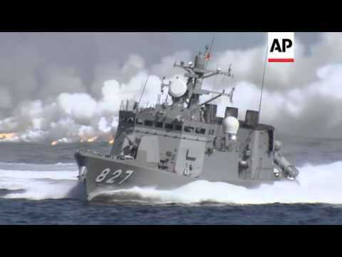 Marine Self Defence Forces holds annual fleet review