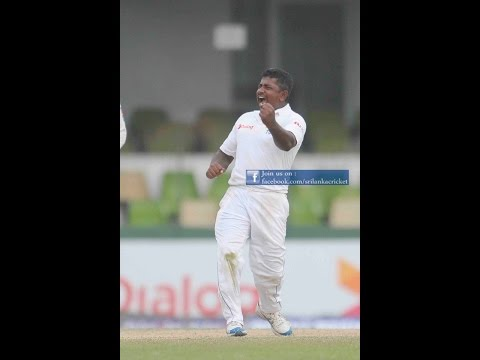 Rangana Herath takes 9 wickets