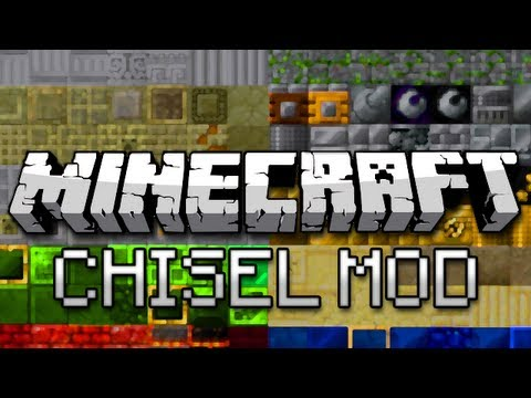 Minecraft: New Blocks Galore! (Chisel Mod Showcase)
