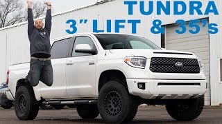 """Tundra Gets 3"""" Lift and 35's"""