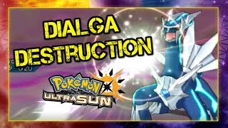 Pokemon Ultra Sun and Moon VGC 2019(GS Cup) Battle - Dialga Destruction