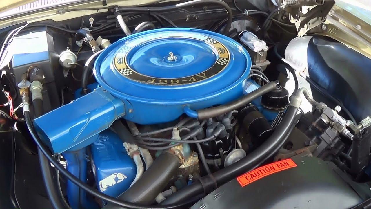 1969 mercury marauder x100 429 v8 360 hp manns restoration