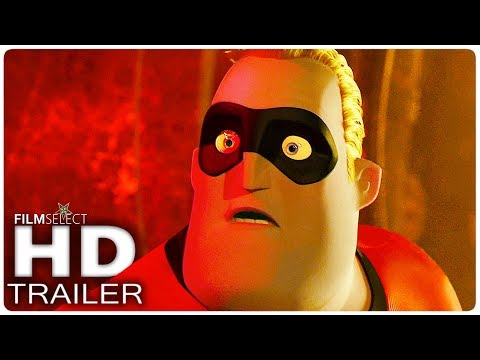 GLI INCREDIBILI 2 Trailer 2 Italiano (2018)