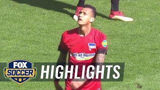 Monchengladbach vs. Hertha BSC Berlin | 2017-18 Bundesliga Highlights