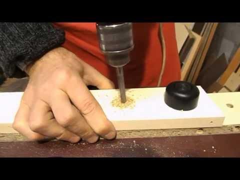 Регулируемая ножка для мебели своими руками