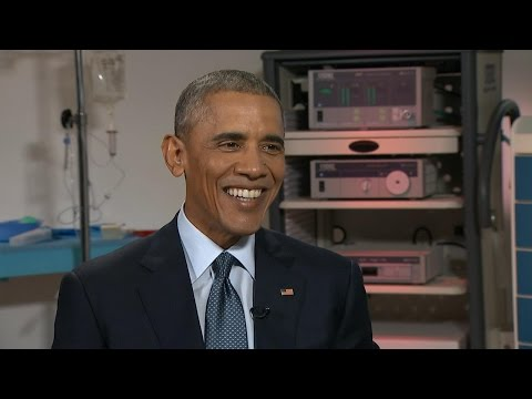 President Obama on Climate Change, Health Insurance, Family