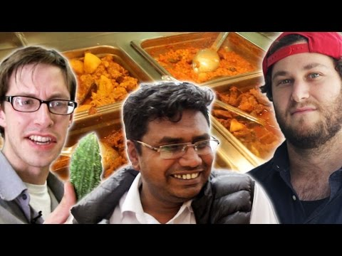 Americans Try Bangladeshi Food With Their Cabbie