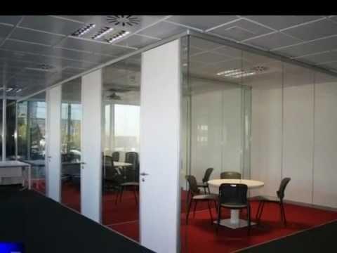 Mamparas de oficinas desmontables divisorias tabiques y muros moviles stylewall youtube - Oficinas y tabiques de cordoba ...