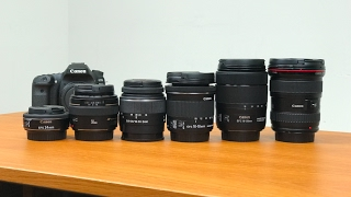 Top 10 Lenses for Canon 80D