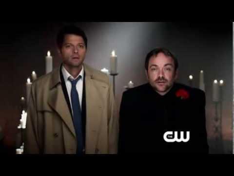Supernatural Season 9 - promo - Castiel & Crowley - Трейлер с Касом и Кроули