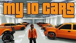 GTA5 | My 10 Car Garage | (EC)
