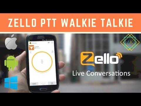 Zello PTT Walkie Talkie: REVIEW!!!