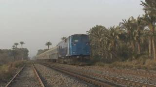 A hornfest of Egyptian Railways GE Evolutions