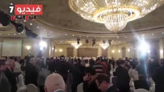 عمرو موسى وسامح عاشور يشاركان باحتفالية تكريم صفوت البياضى