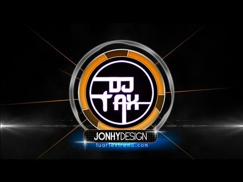 Tutorial Photoshop - Logotipo estilo DJ