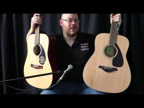 Fender CD-60S vs Yamaha FG800 Comparison