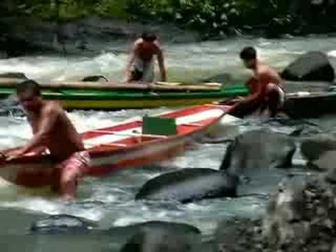 Pagsanjan Falls in Laguna Philippines! Breath Taking Rapids...Sweet Boat Ride...