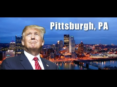 LIVE Stream: Donald Trump Rally from Pittsburgh PA (4-13-16) Hello again TRUMP supporters