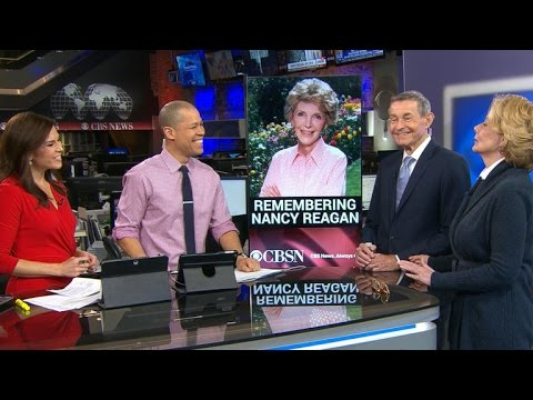 Peggy Noon and Bill Plante remember Nancy Reagan