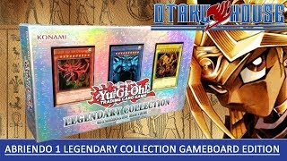 Abriendo 1 Caja de Legendary Collection: Gameboard Edition de Yu-Gi-Oh!