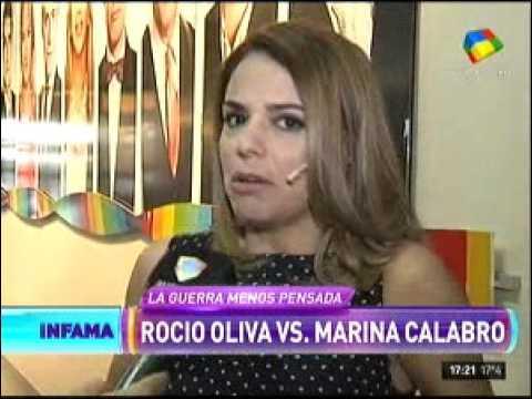 Marina Calabró destrozó a Rocío Oliva
