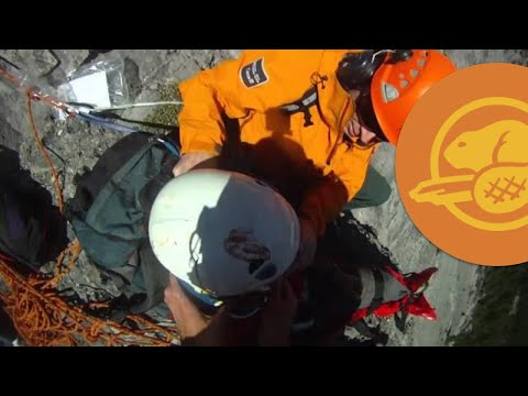 Climber Rescued on Cascade Mountain in Banff National Park