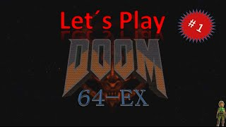 Lets Play Doom 64 (EX),  #01, blind, german, deutsch
