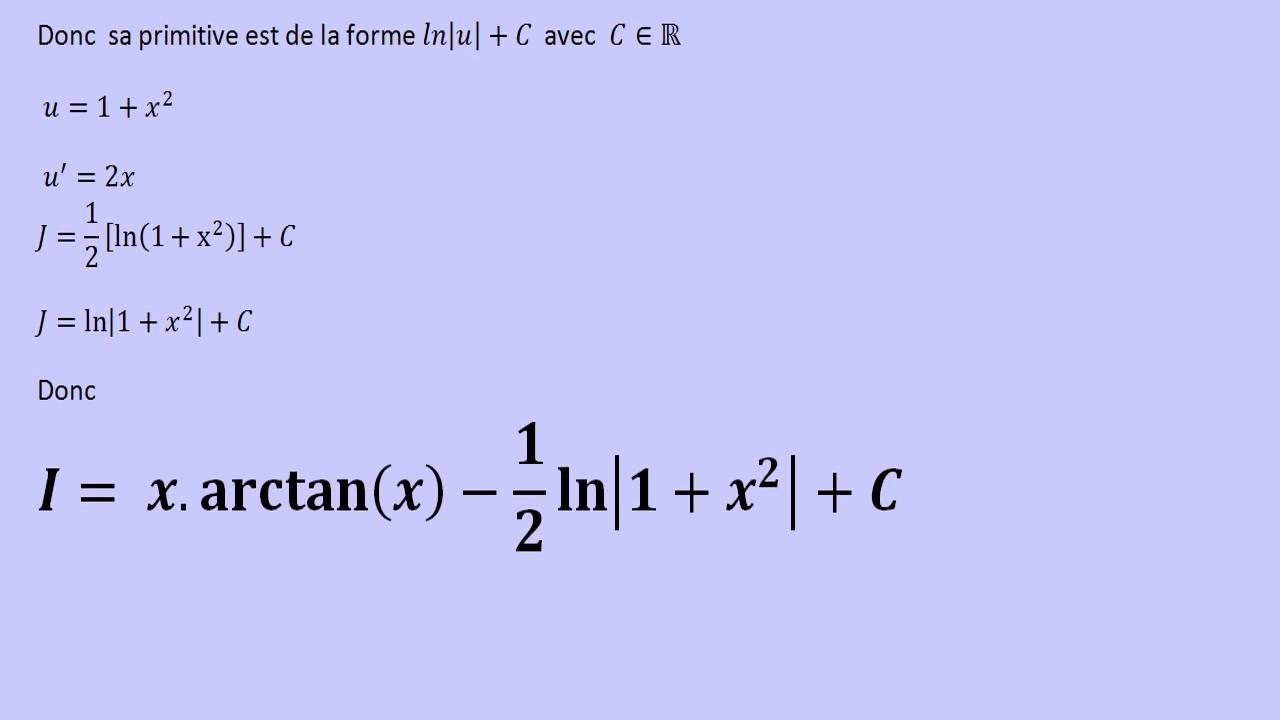 antiderivative of tan x