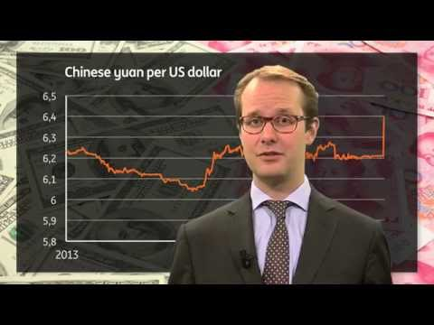 In 90 seconds – what the cheaper Chinese yuan means for Europe