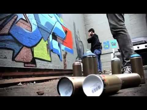 Modacalle zapatos Peru arte urbano Como dibujar grafitis en un pared.mp4