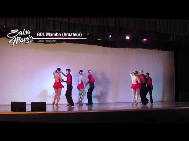 GDL Mambo Amateur | Salsa Mambo Fest 2014 | Riviera Nayarit