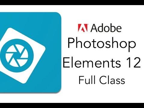 Adobe Photoshop Elements 12 Full Tutorial - YouTube