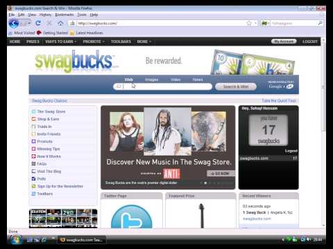 Swagbucks Video