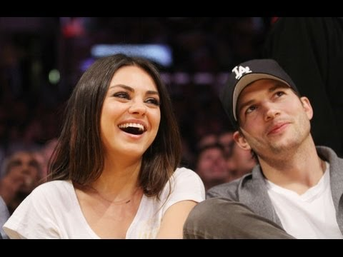 Mila Kunis and Ashton Kutcher - BEST and CUTE moments